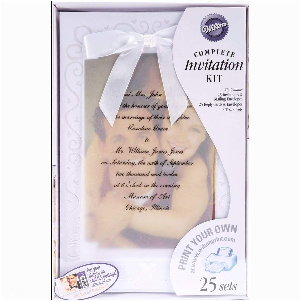 Walmart Wedding Invitation Kits Unique Wedding Invitation Kit