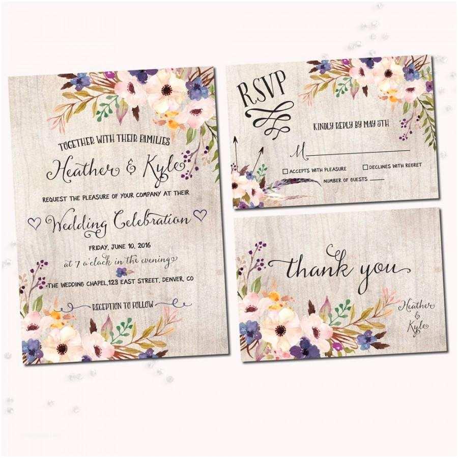 Watercolor Floral Wedding Invitations Floral Wedding Invitations Watercolor Floral Printable