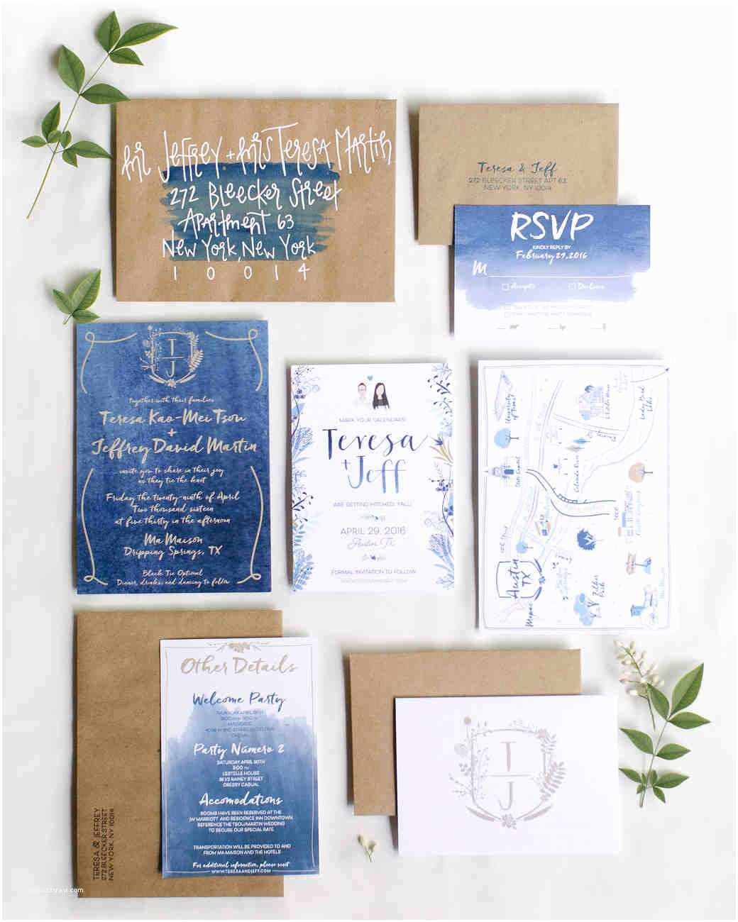 Watercolor Wedding Invitations the Loveliest Watercolor Wedding Invitations