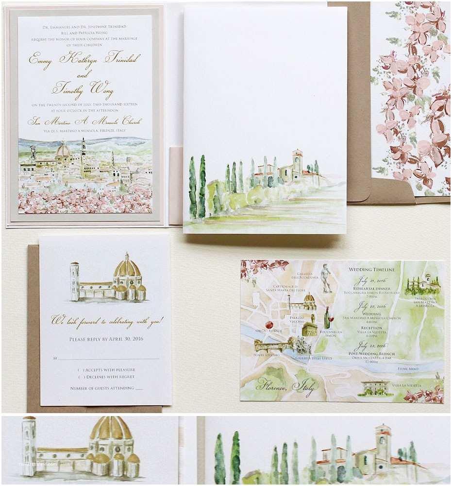 Watercolor Wedding Invitations Watercolor Wedding Invitationsmomental Designs