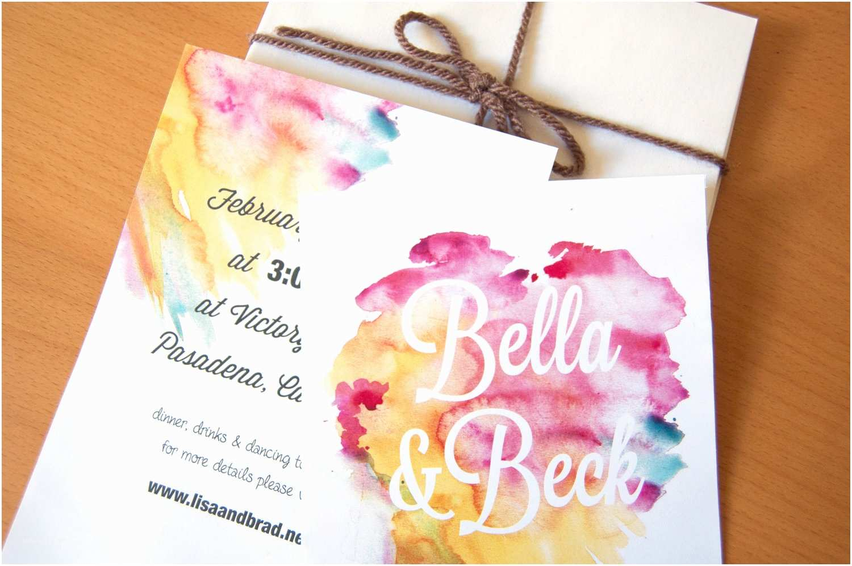 Watercolour Wedding Invitations Gorgeous Watercolor Wedding Finds Romantic Invitations