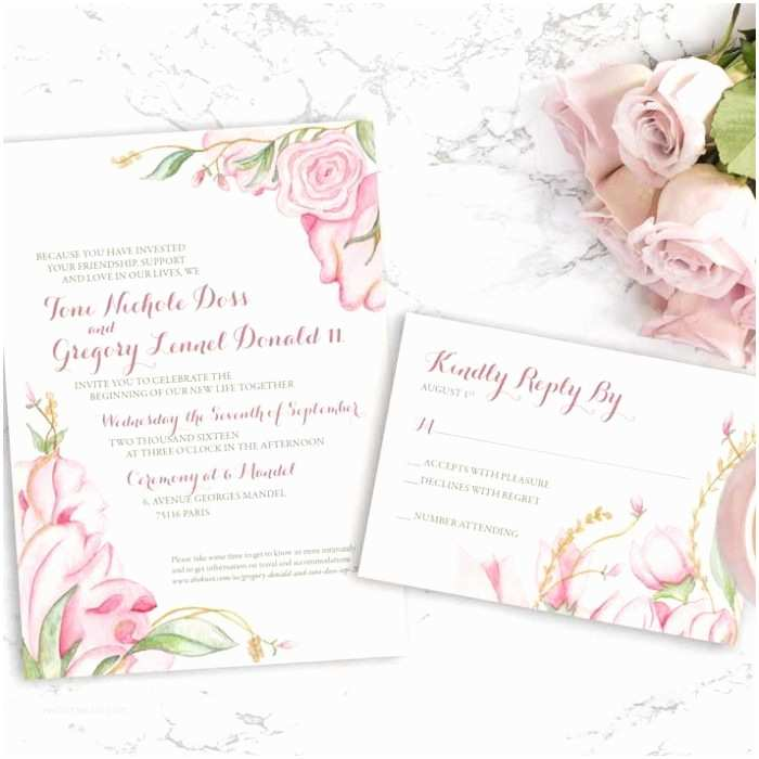 Watercolour Wedding Invitations Hand Painted Weddings