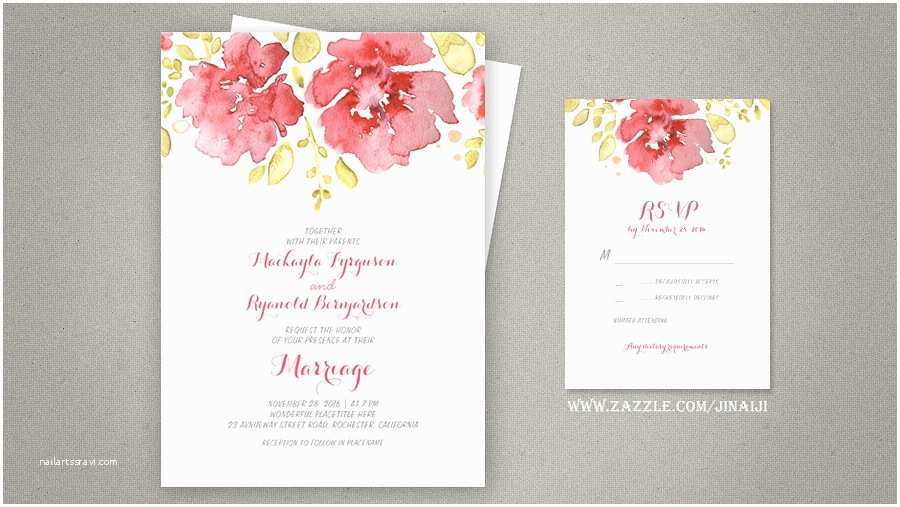 Watercolour Wedding Invitations Read More – Watercolor Floral Wedding Invitations