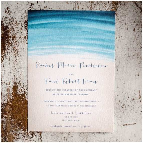 Watercolour Wedding Invitations Watercolor Wedding Invitation Rustic Wedding Invitation