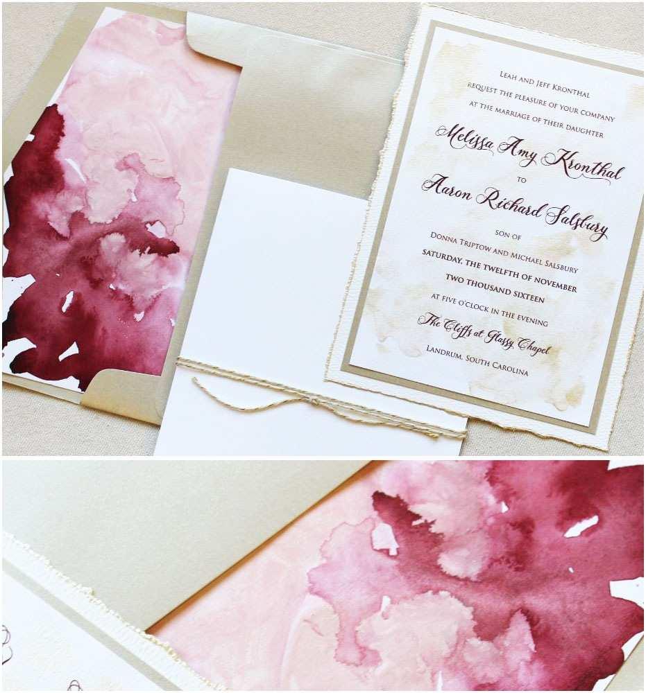 Watercolour Wedding Invitations Watercolor Wedding Invitations – Gangcraft