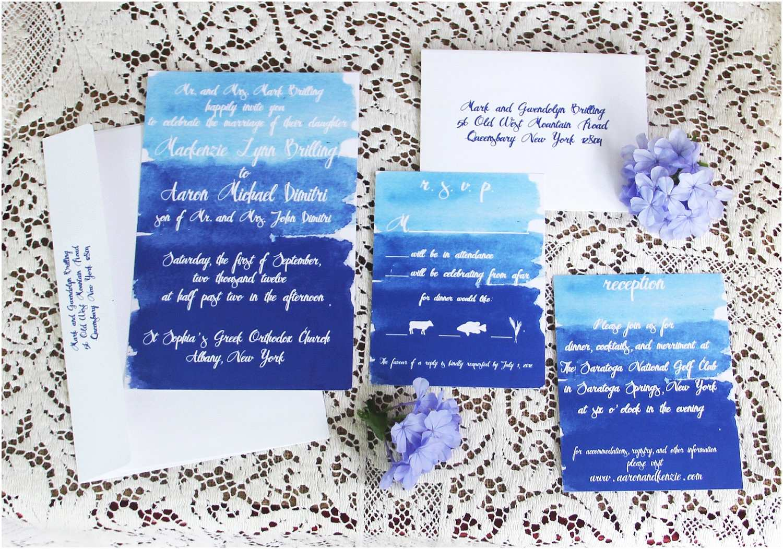 Watercolour Wedding Invitations Watercolor Wedding Invitations Handmade Weddings by Etsy