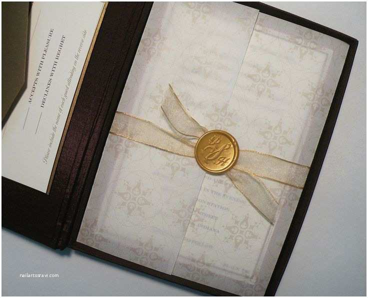 Wax Seal Wedding Invitations 17 Best Images About Wax Seals On Pinterest