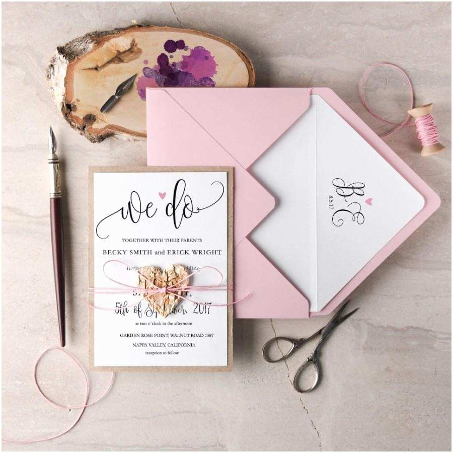 We Do Wedding Invitations We Do Wedding Invitation Suite 20 Rustic Wedding
