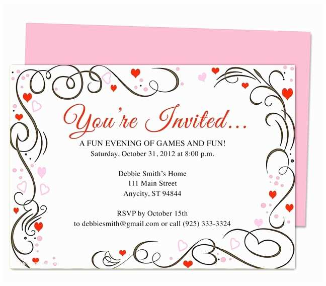 Wedding Anniversary Invitation Templates 17 Best Images About 25th & 50th Wedding Anniversary