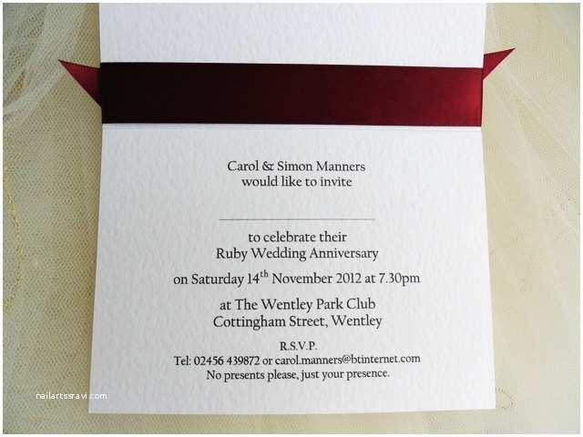 Wedding Anniversary Invitation Wording Silver Wedding Anniversary Invitations Template
