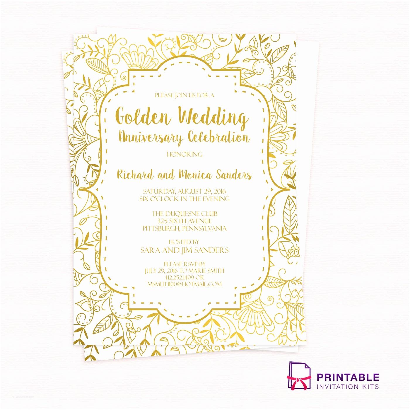 Wedding Anniversary Invitations In Spanish 50th Wedding Anniversary Invitation Wording Samples In
