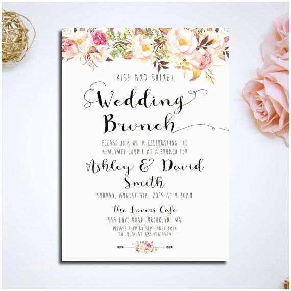 Wedding Brunch Invitations Best 25 Invitation Cards Ideas On
