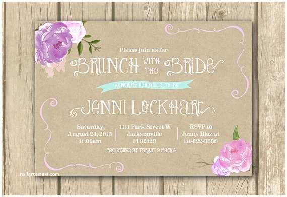 Wedding Brunch S Bridal Brunch  Lilac Bridal Shower