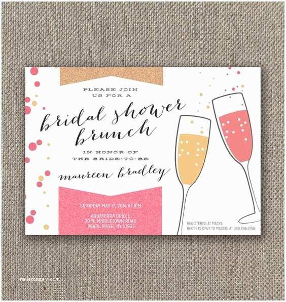 Wedding Brunch Invitations Bridal Shower Brunch Invitation Digital