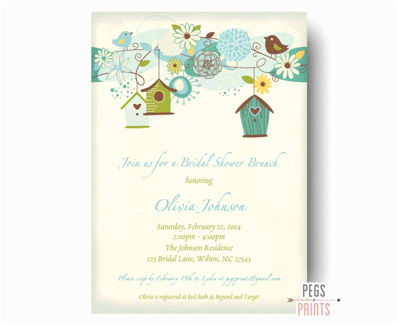 Wedding  Invitations Bridal Shower  Invitation Printable Bridal