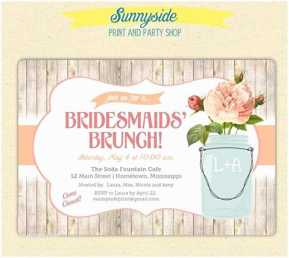 Wedding Brunch Invitations Bridal Shower Wedding Invitations 10 Handpicked Ideas