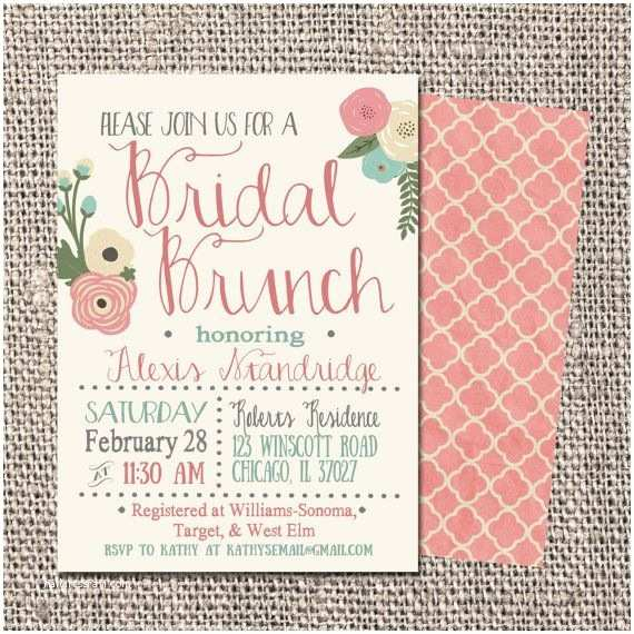 Wedding Brunch Invitations Hey I Found This Really Awesome Etsy Listing At