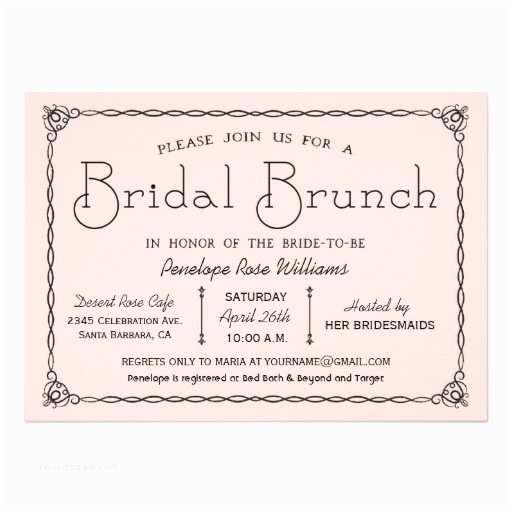 Wedding Brunch  Vintage Bridal Brunch Bridal Shower