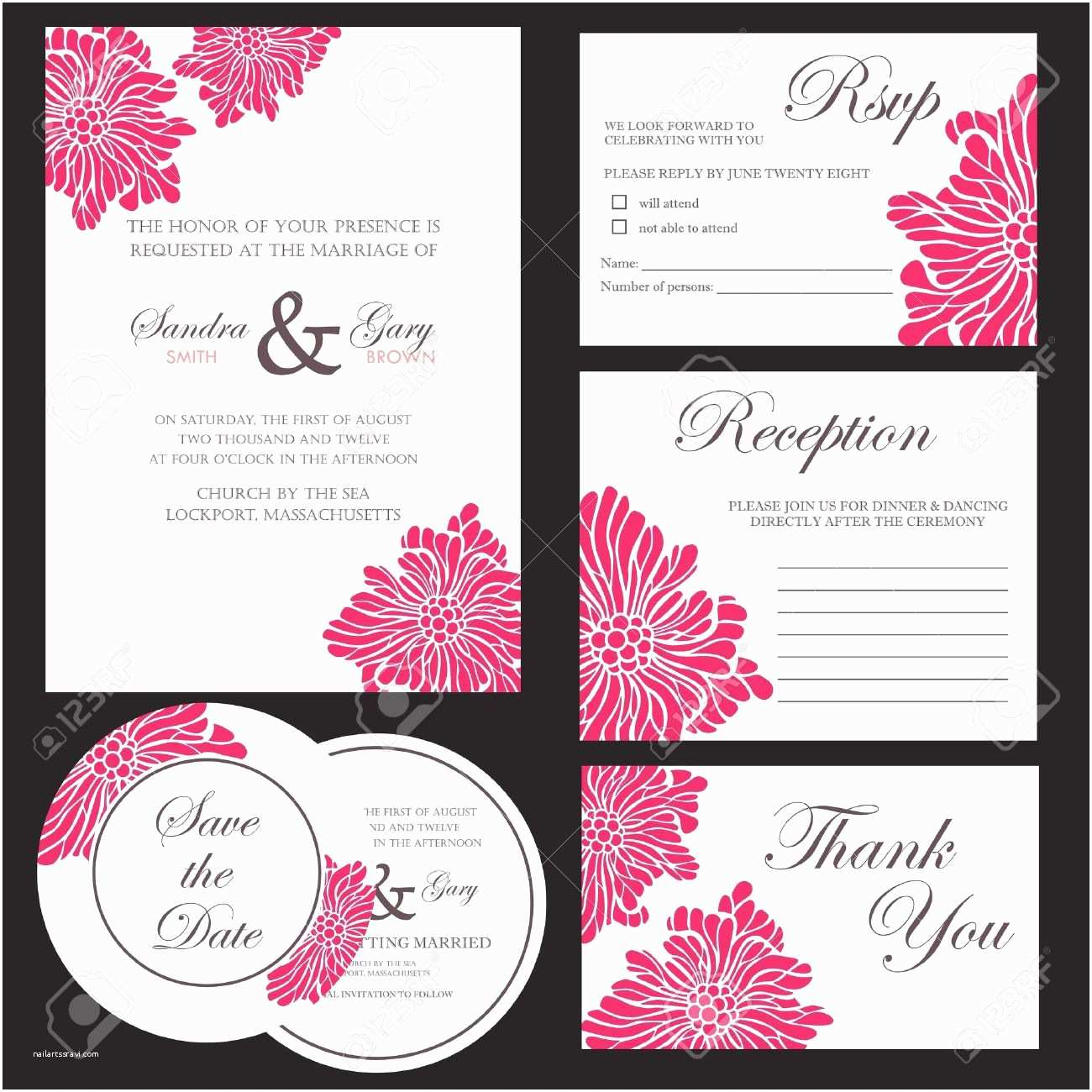 Wedding Card Invitation Bible Quote for Wedding Invitation