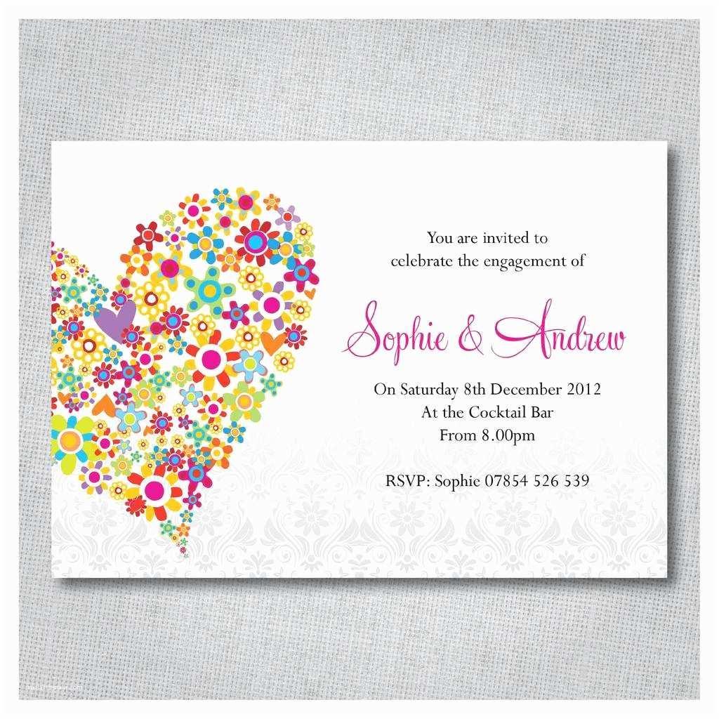 Wedding Celebration Invitations Colorful Wedding Celebration Invites Image Invitation