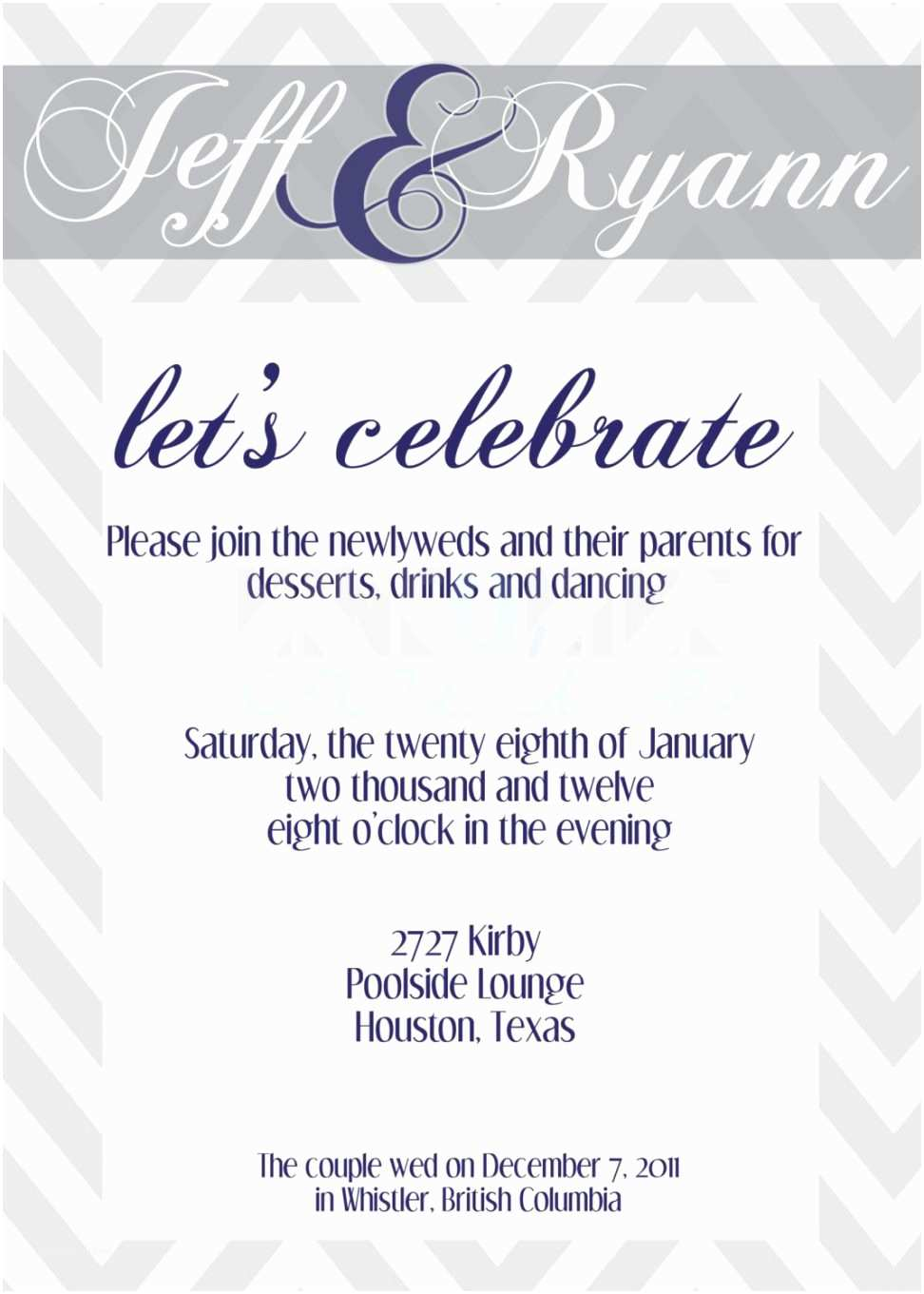 Wedding Celebration Invitations Wedding Invitation Templates Wedding Party Invitations