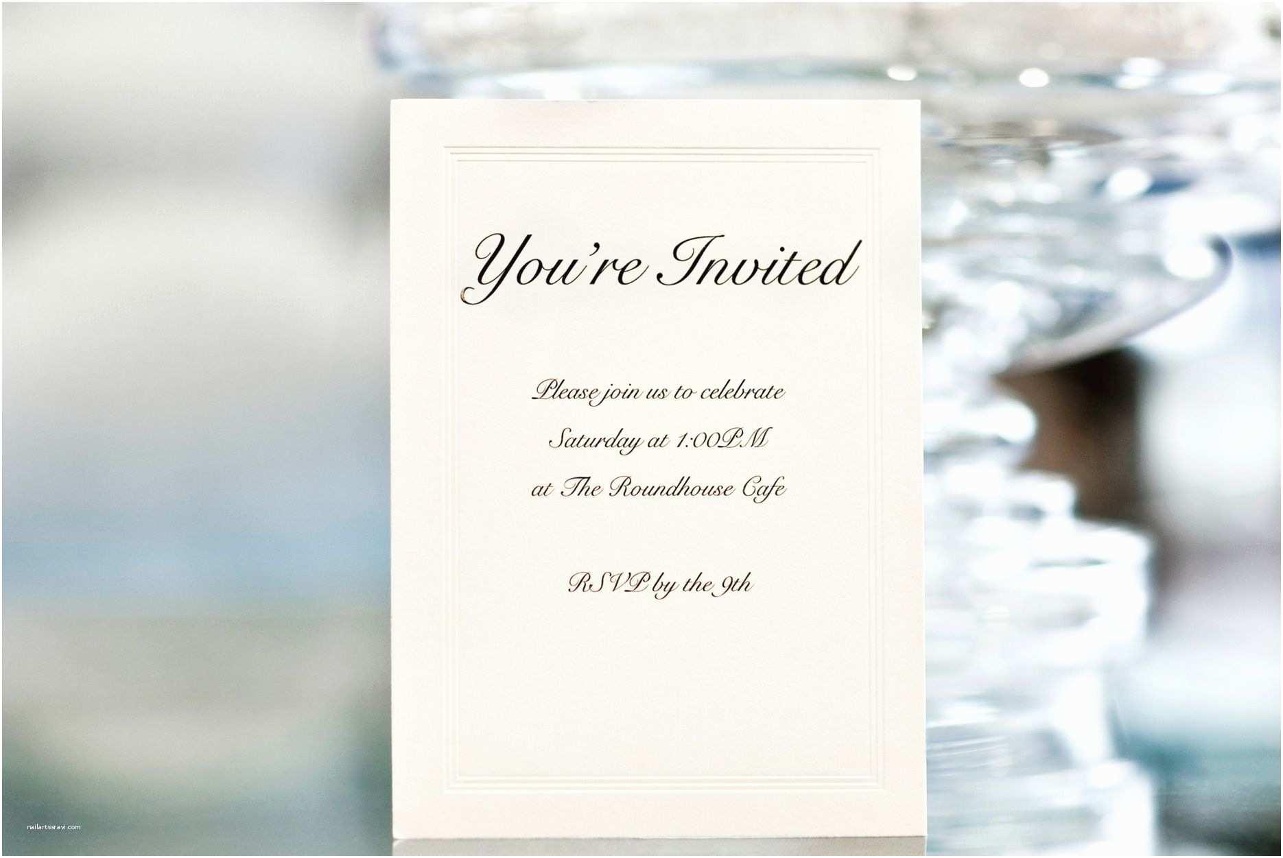 Wedding Ceremony Invitation Wording Card Template Wedding Ceremony Invitation Wording Card