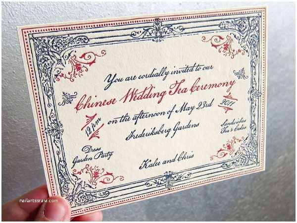 Wedding Ceremony Invitation Wording Gallery Chinese Wedding Tea Ceremony Invitation