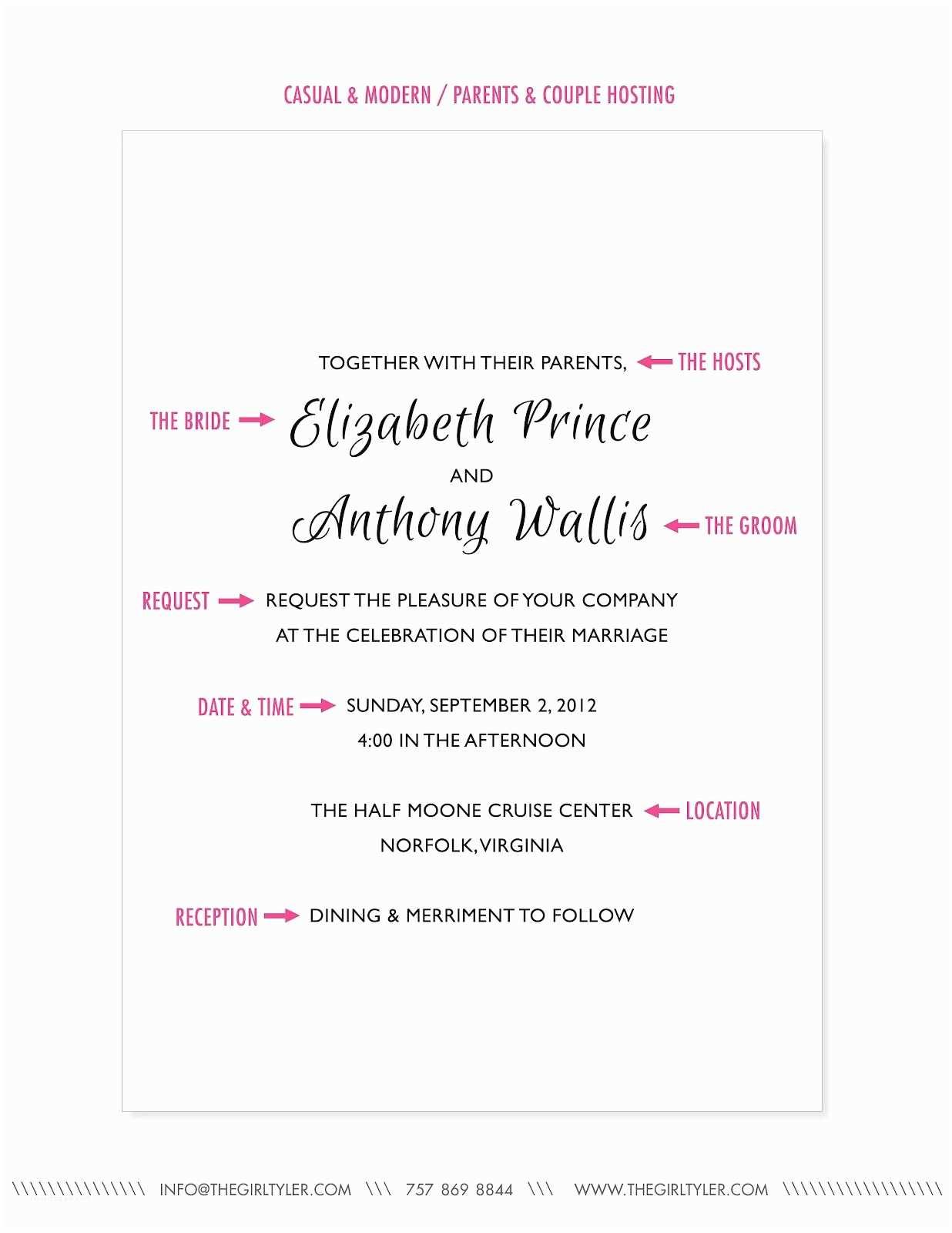 Wedding Ceremony Invitation Wording Wedding Ceremony Invitation Wording Wedding Party Invite