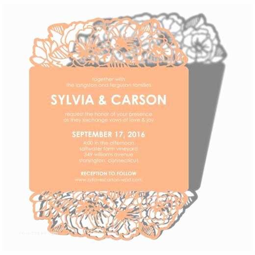 Wedding Divas Invitations Laser Cut Wedding Invitations Wedding Paper Divas and
