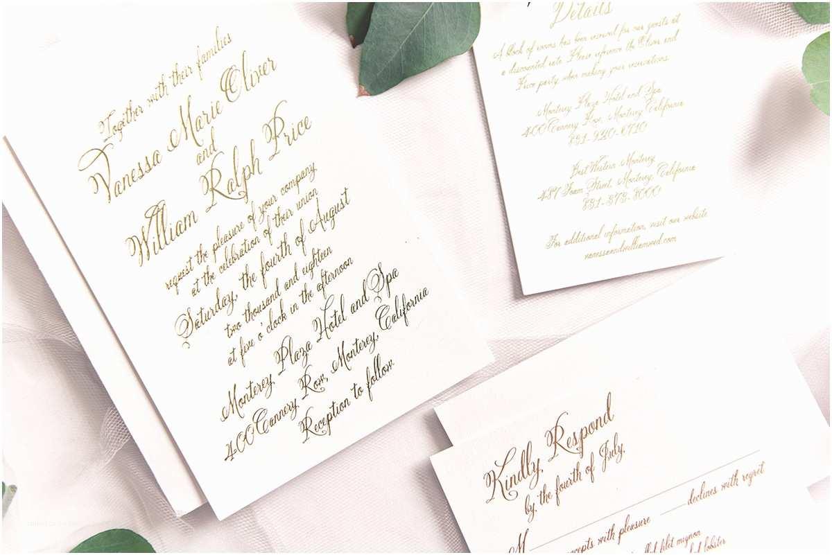 Wedding Divas Wedding Invitations Wedding Paper Divas Bold Calligraphy 7 Image
