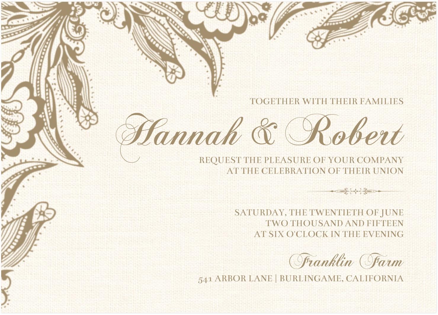 Wedding Engagement Invitation Inspirational Card Design Samples