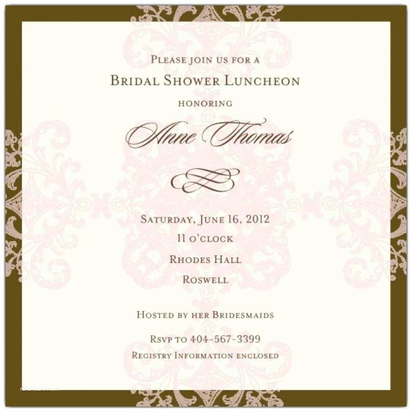 Wedding Etiquette Invitations Awesome Wedding Shower Invitation Etiquette