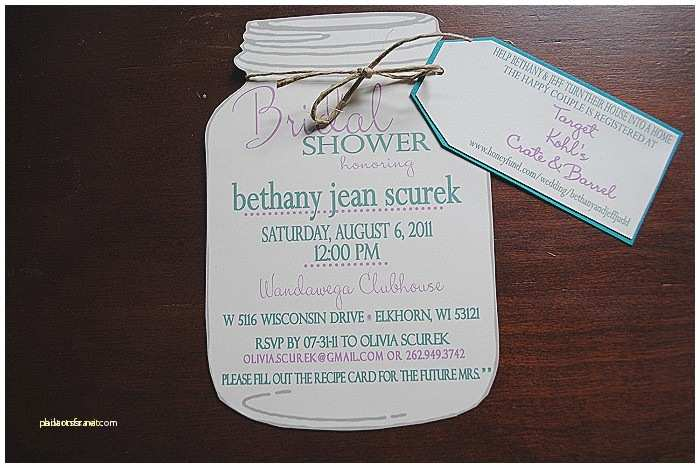 Wedding Etiquette Invitations Unique Bridal Shower Invitation Etiquette Registry