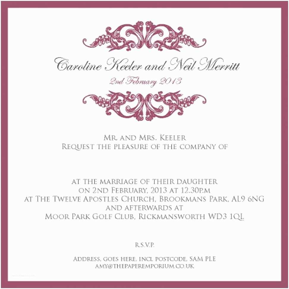 Etiquette Invitations  Invitation Templates Proper Etiquette For