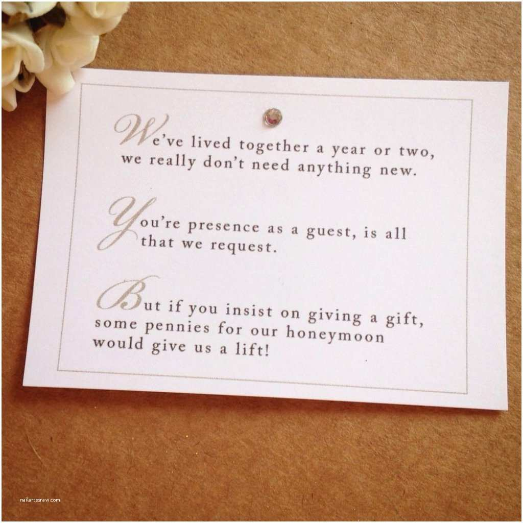 wedding invitation wording for monetary ts