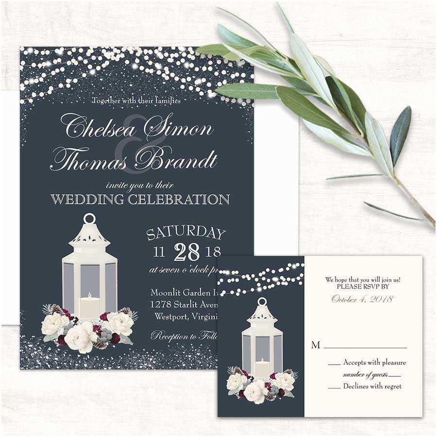 Wedding Invitation 2017 2017 Wedding Invitations Trends Metal Lanterns as Decor