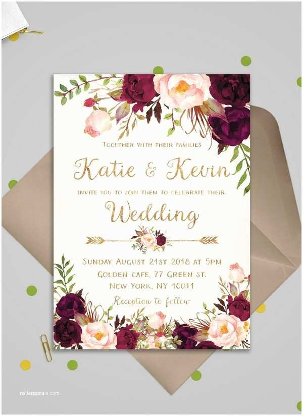 Wedding Invitation 2018 Oh Best Day Ever All About Wedding Ideas and Colors