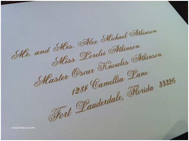 Wedding Invitation Addressing Service Addressing Service for Wedding Invitations