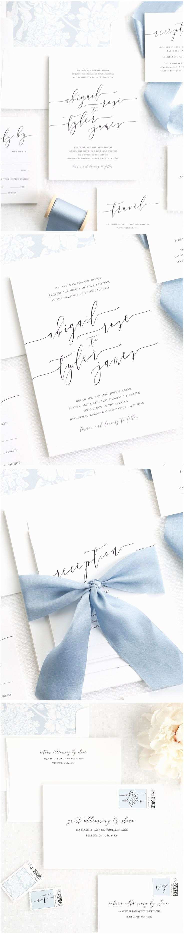 Wedding Invitation Addressing Service Best 25 Calligraphy Wedding Invitations Ideas On