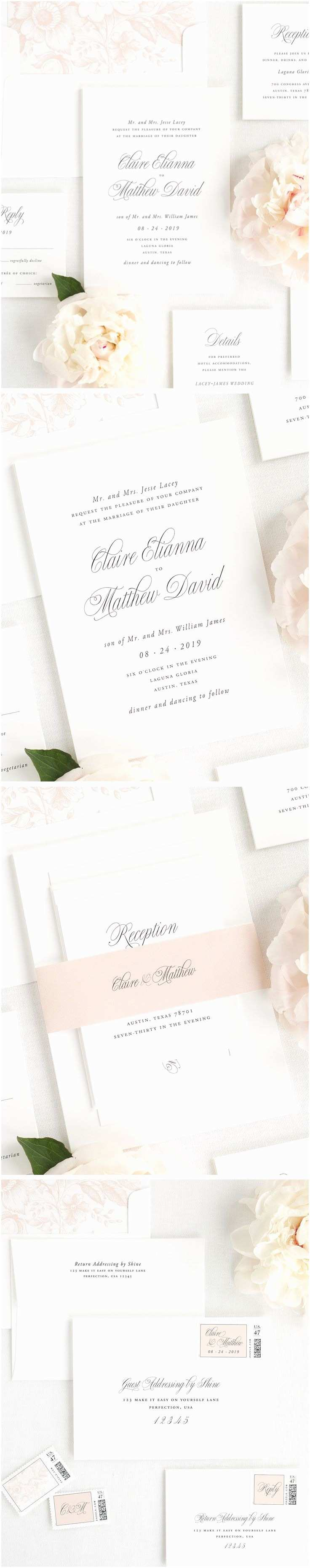 Wedding Invitation Addressing Service Best 25 Garden Wedding Invitations Ideas On Pinterest