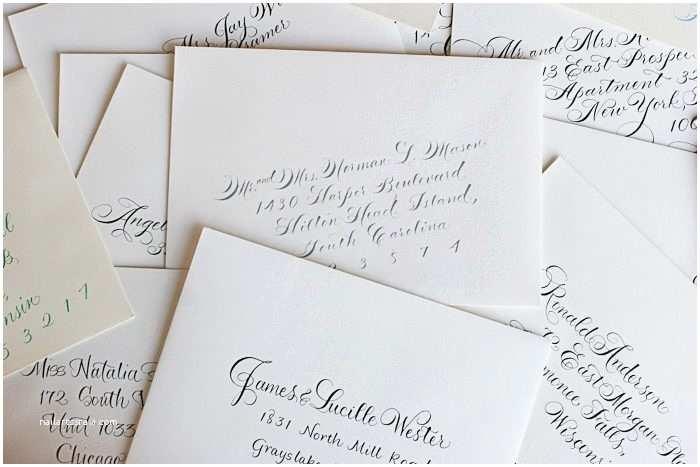 Wedding Invitation Addressing Service Calligraphy Envelope Addressing Etiquette Questions