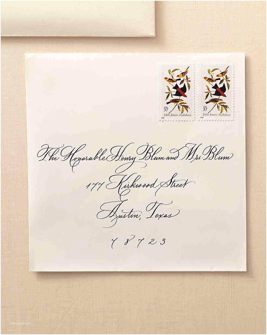 Wedding Invitation Addressing Service How to Address Guests On Wedding Invitation Envelopes