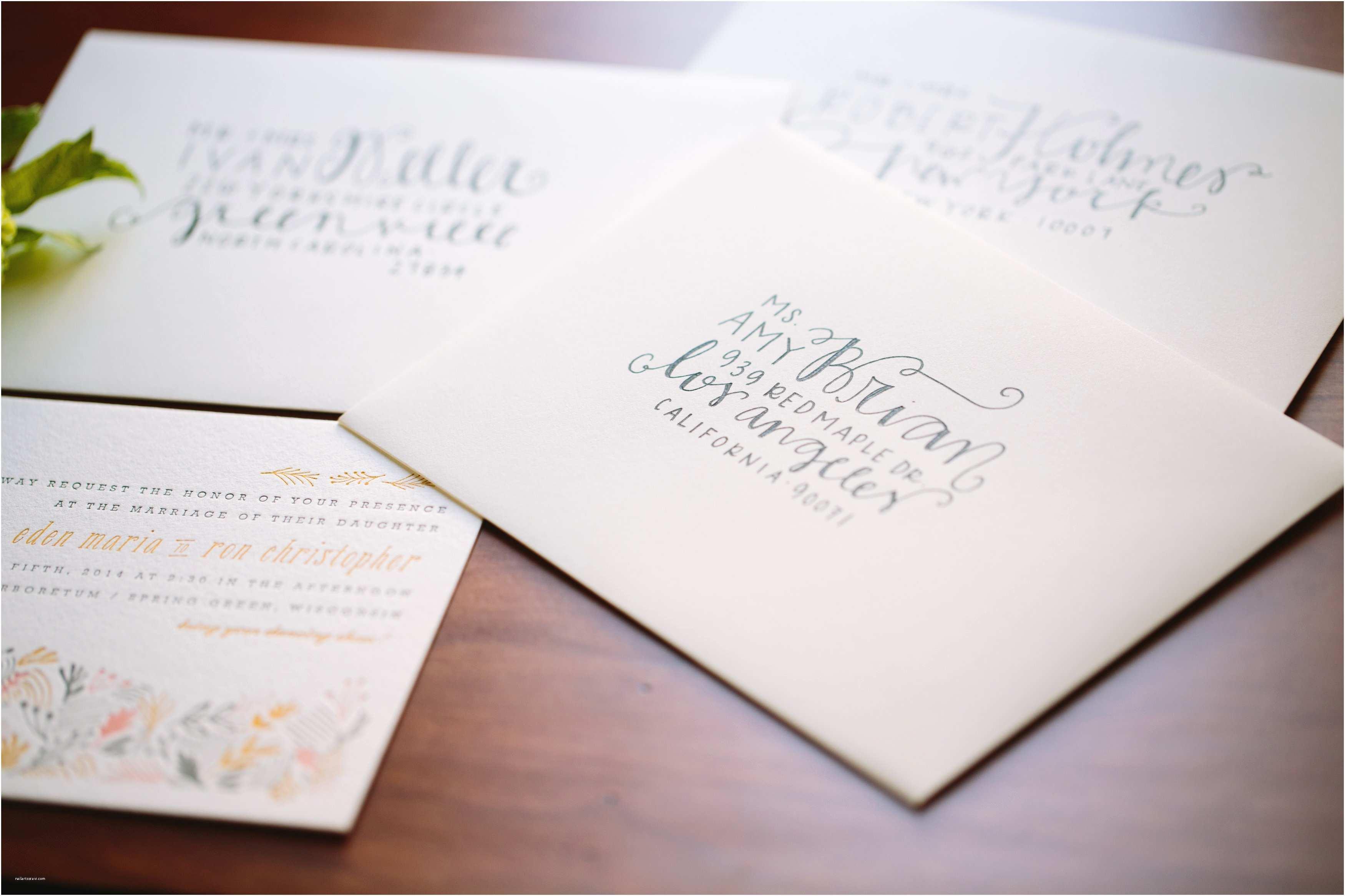 Wedding Invitation Addressing Service How to Wedding Invitation Address Etiquette Designs with