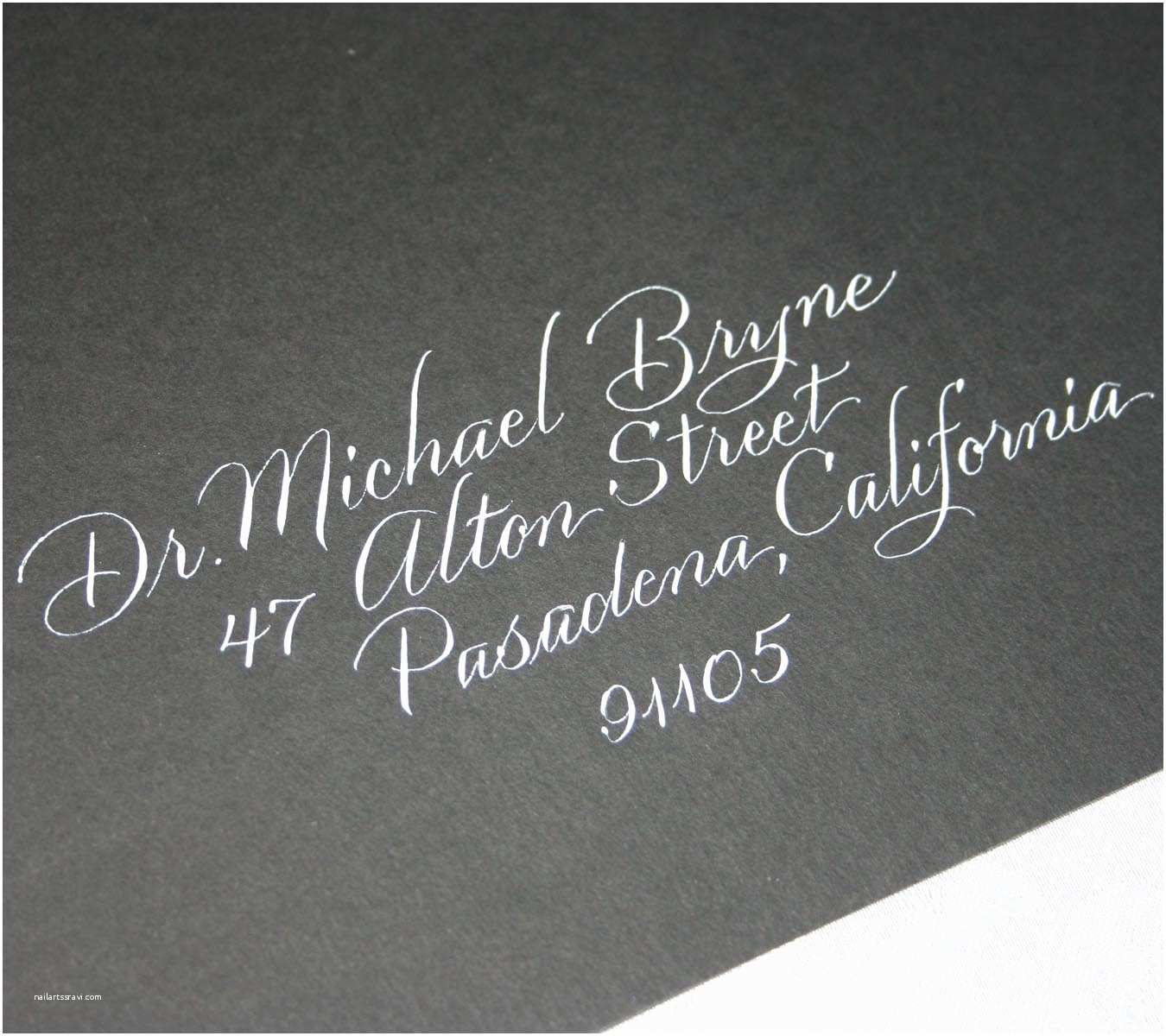 Wedding Invitation Addressing Service Wedding Calligraphy Envelope Addressing Calligraphy Service