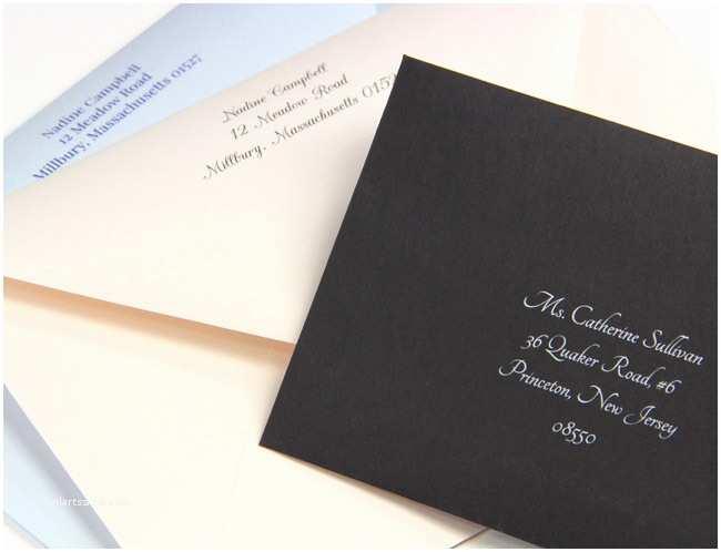 Wedding Invitation Addressing Service Wedding Envelope Printing