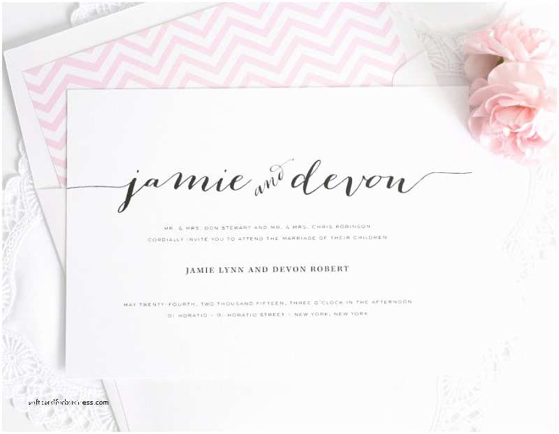 Wedding Invitation Addressing Service Wedding Invitation Best Proper Etiquette for