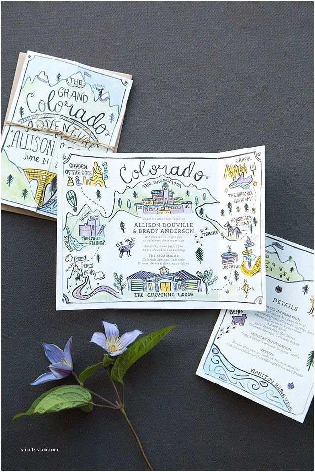 Wedding Invitation Adventure 17 Best Ideas About Illustrated Wedding Invitations On