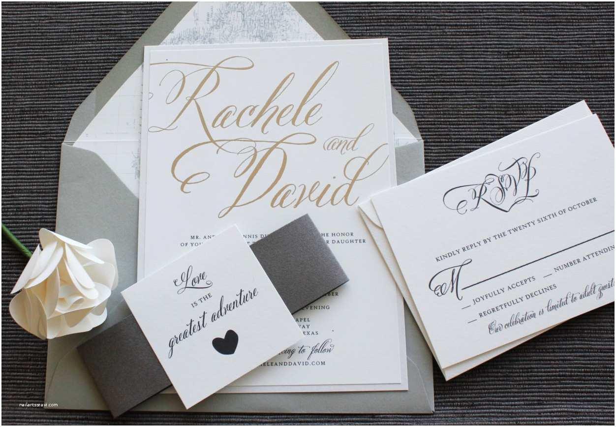 Wedding Invitation Adventure Love is the Greatest Adventure Wedding Invitation Map