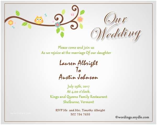 Wedding Invitation Announcement Wording Informal Wedding Invitation Wording Samples Wordings and