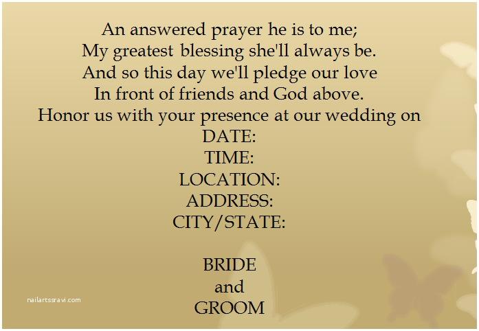 Wedding Invitation Announcement Wording Simple Wedding Invitation Wording